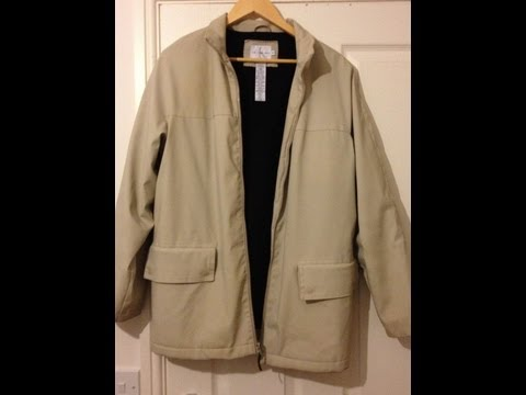 SOLD: CALVIN KLEIN WATERPROOF COAT!! EXCELLENT QUALITY! GOOD BARGAIN! 100% authentic!
