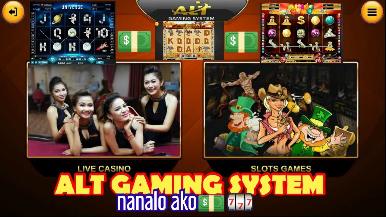 Alt Gaming System Casino Online Game Slot Game Nanalo Ako10 19php 3000php Youtube