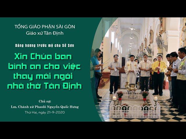 Cầu nguyện: Xin Chúa ban bình an cho việc tu sửa mái ngói nhà thờ - 21/09/2020