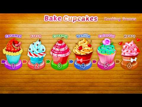 bake cupcakes games