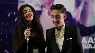 Mahira Khan, Sajal Ali, Asim Azhar and other celebrities at Aashir Wajahat's song launch