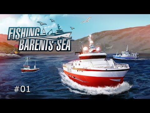 Fishing Barents Sea Gameplay ITA #01 il primo giorno di pesca andata male