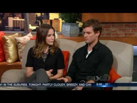 Sophia Bush & Austin Nichols on  NY PIX morning news