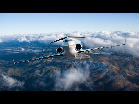 Les avions Global à Aspen - Performant en toutes conditions