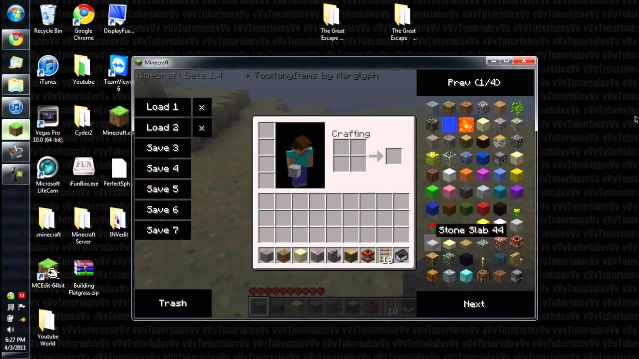 INVEdit (Minecraft Inventory Editor) Tutorial