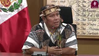 Tema:Firma de convenio con Alcalde de Megantoni - Cusco