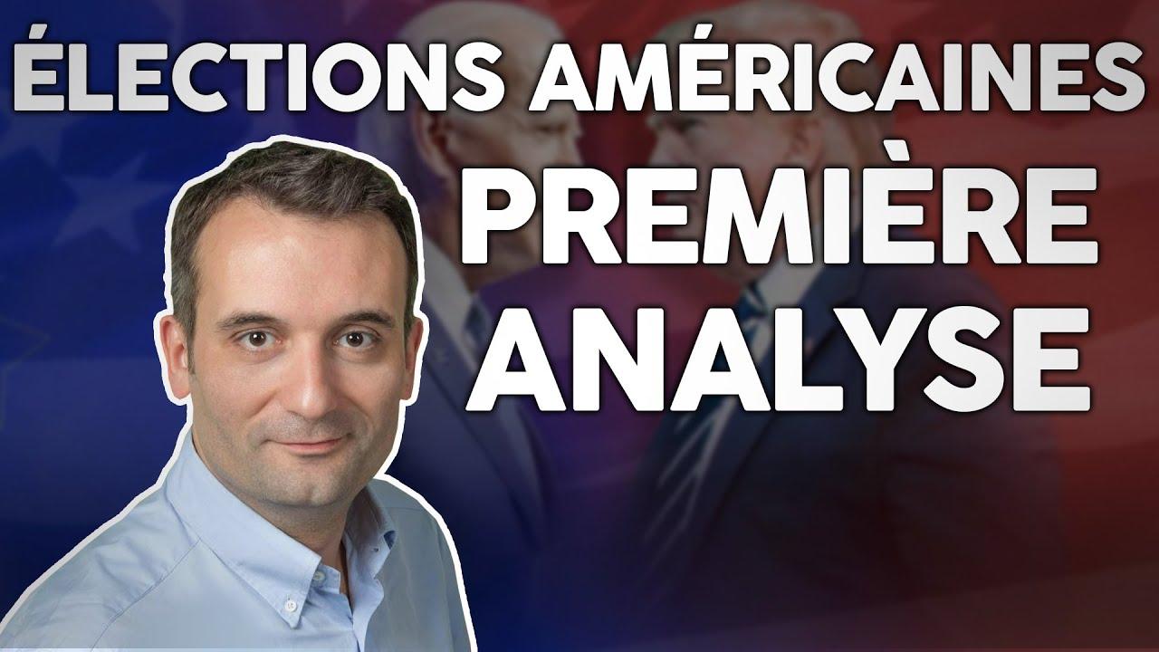 Élections américaines TRUMP vs BIDEN : première analyse !