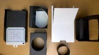 немного безумия: самодельная камера из картона