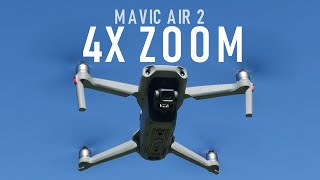 Mavic Air 2 - Zoom UPDATE (4X Digital Zoom) | DansTube.TV