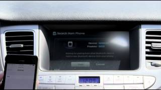 How to Sync iPhone To a 2014 Hyundai Genesis Via Bluetooth | Morrie