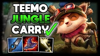 Teemo Jungle CARRY Commentary Guide - League of Legends
