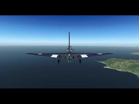 DHC-1 (Khamsin Studio) -- Skiathos Int. Airport (LGSK) -- X-Plane 11.05