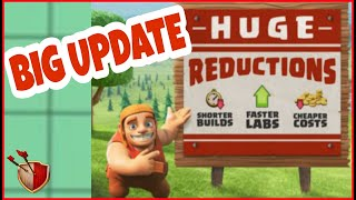 BIG REDUCTION IN UPGRADE TIME | QoL | Clash of clans