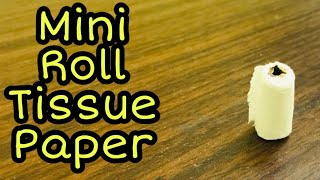 Miniature Roll Tissue Paper  | For Childrens Kitchen Set | Easy Paper Craft |  Malayalam