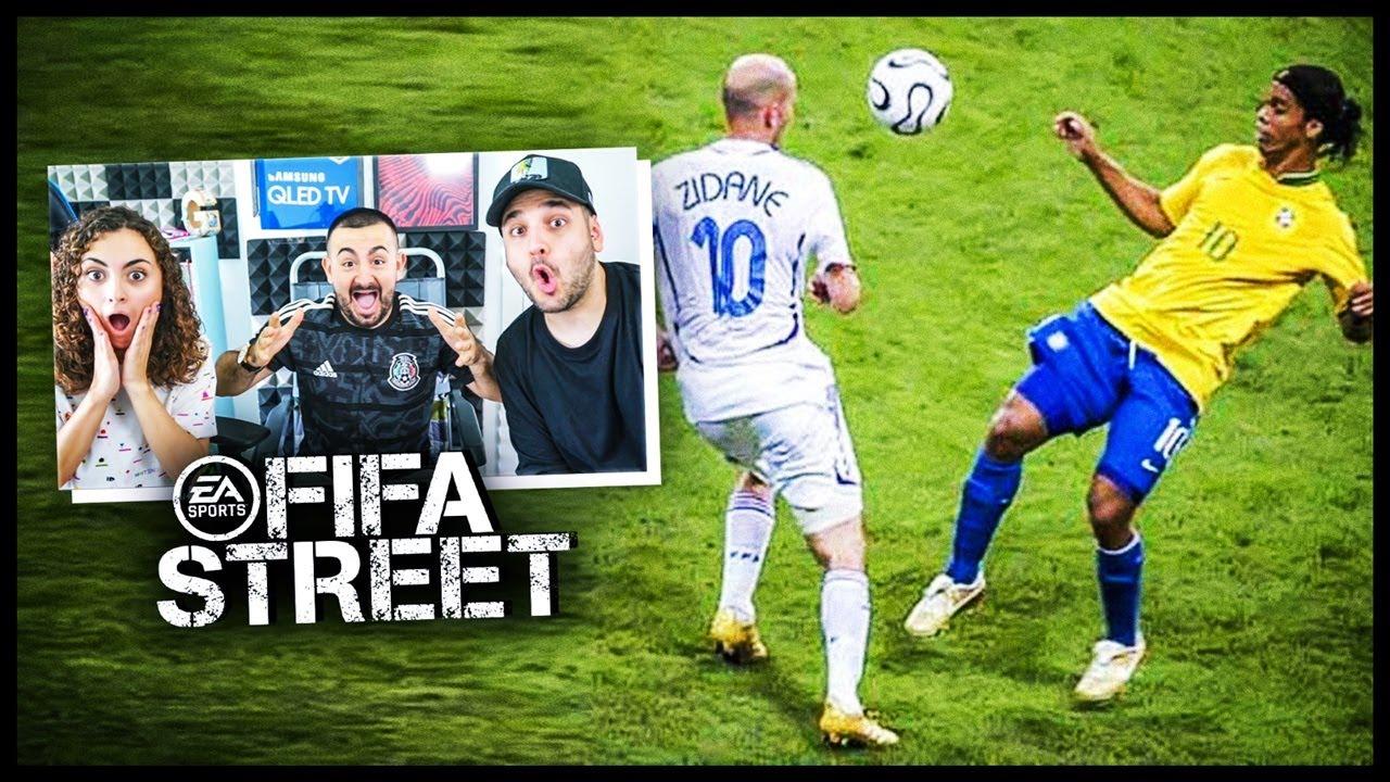 CUANDO EL FUTBOL SE CONVIERTE EN FIFA STREET ft. Vituber x Laura.