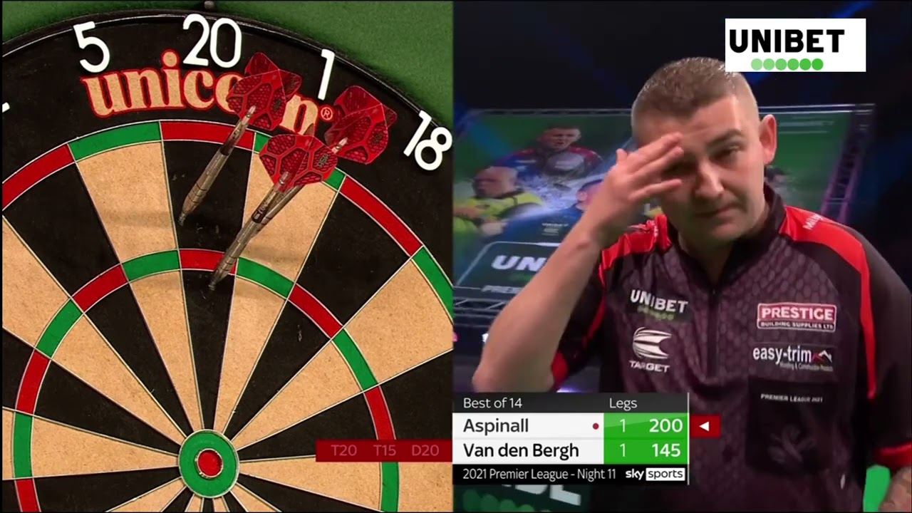 2021 Premier League Darts Day11 All Matches Youtube