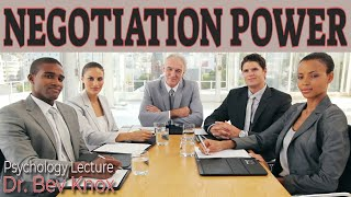 Types of Power in Negotiation