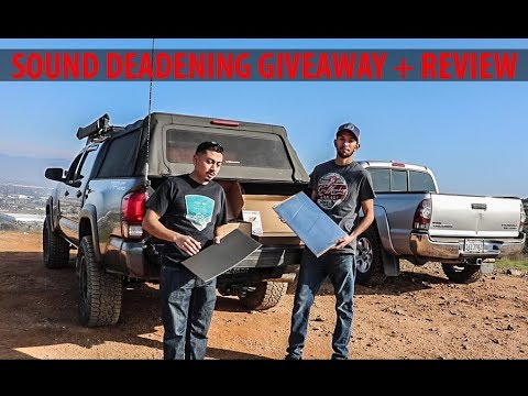 is-this-the-best-sound-deadening?-noico-solutions-review-+-giveaway!!!