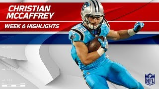 Christian McCaffrey's Big Night w/ 10 Catches! | Eagles vs. Panthers | Wk 6 Player Highlights