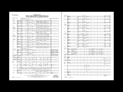 Highlights from The Greatest Showman arr. Michael Brown