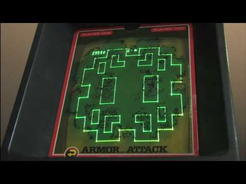 Classic Game Room HD - ARMOR ATTACK for Vectrex review