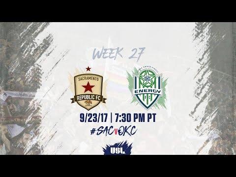 USL LIVE - Sacramento Republic FC vs OKC Energy FC 9/23/17