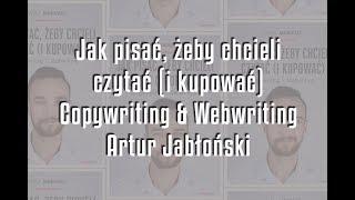 Copywriting i webwriting - Artur Jabłoński | recenzja