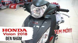 Honda Vision 2018 Đen Nhám tem mới ▶ Tổng quan sản phẩm