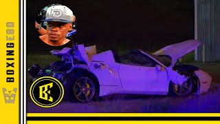 BREAKING: ERROL SPENCE JR IN SERIOUS CAR ACCIDENT EJECTED FROM CAR MOVING AT HIGH SPEEDS!