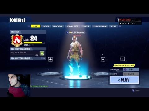 FORTNITE BATTLE ROYALE | #1 RANKED ON LEADERBOARDS - 201 SOLO WINS 4100+ KILLS - SPONSOR GOAL 32/40