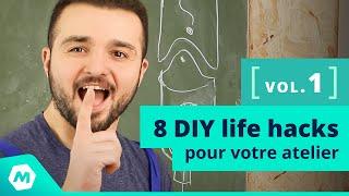 Astuces bricolage ! 8 DIY hacks pour votre atelier [tuto bricolage - ManoMano]