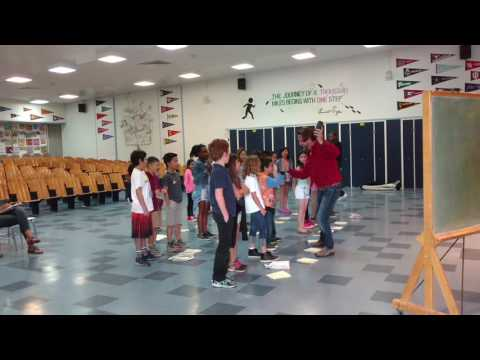 """I'd Rather Be Happy"" sung by Topeka Drive Elementary School students"
