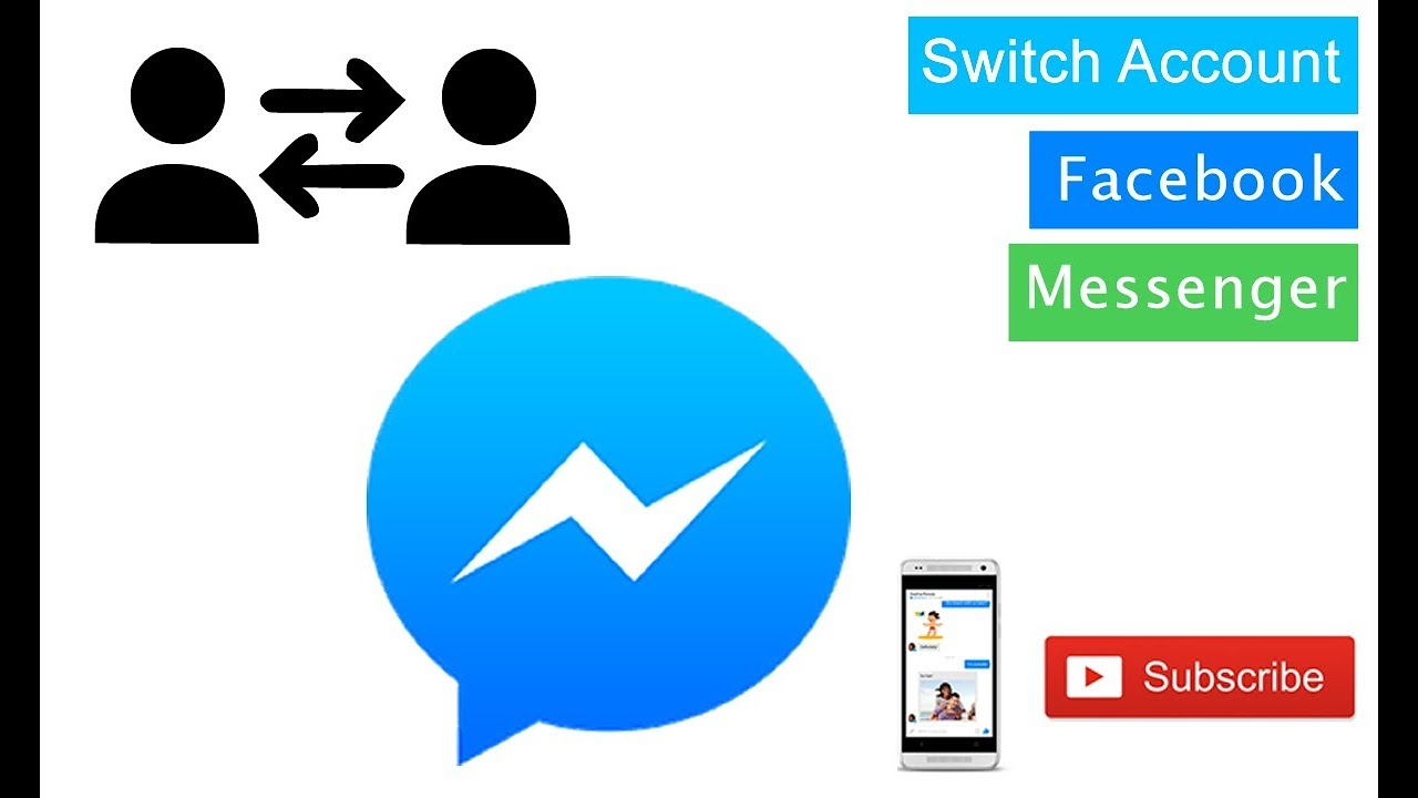 Facebook Tips || How to Switch Account on Facebook Messenger 2019