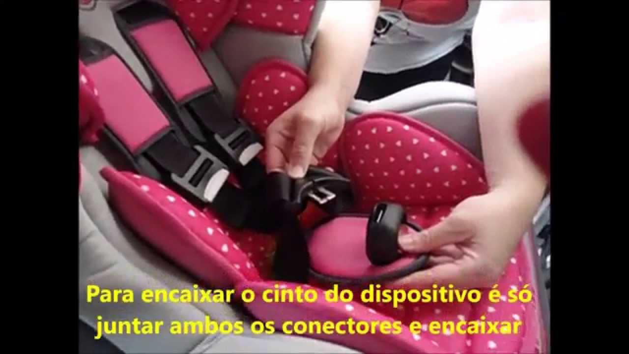 f1016ad4d16dc Como Instalar a Cadeira Auto Minnie Cosmo SP... - YouTube