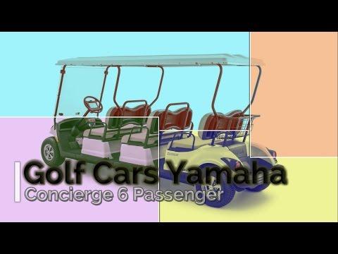 Look This, 2016 Yamaha Golf Cars Concierge 6A Passenger