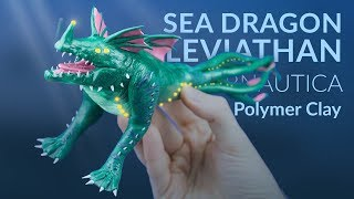 Sea Dragon Leviathan  – Polymer Clay Tutorial