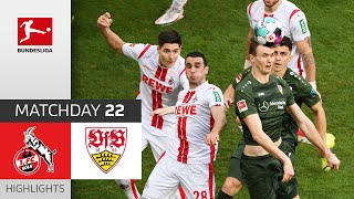 #koevfb | highlights from matchday 22!► sub now: https://redirect.bundesliga.com/_bwcs watch the bundesliga of 1. fc köln vs. vfb stuttgart m...