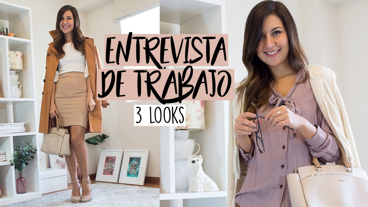 outstanding outfit entrevista laboral mujer en