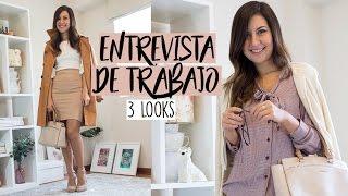 TIPS PARA UNA ENTREVISTA DE TRABAJO + 3 OUTFITS 🤓✏️ - Tana Rendón