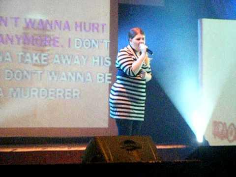 pontins karaoke grand final- unfaithful pt1 - ciara wakefield
