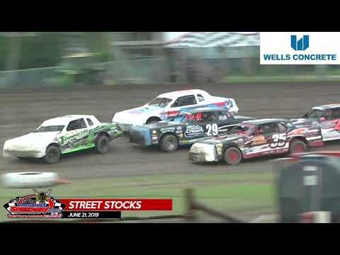 6/21/19 Wissota Street Stocks - River Cities Speedway