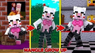 Fnaf Mangle Visits the Pizzeria! -Animatronic World! (Roblox Roleplay)