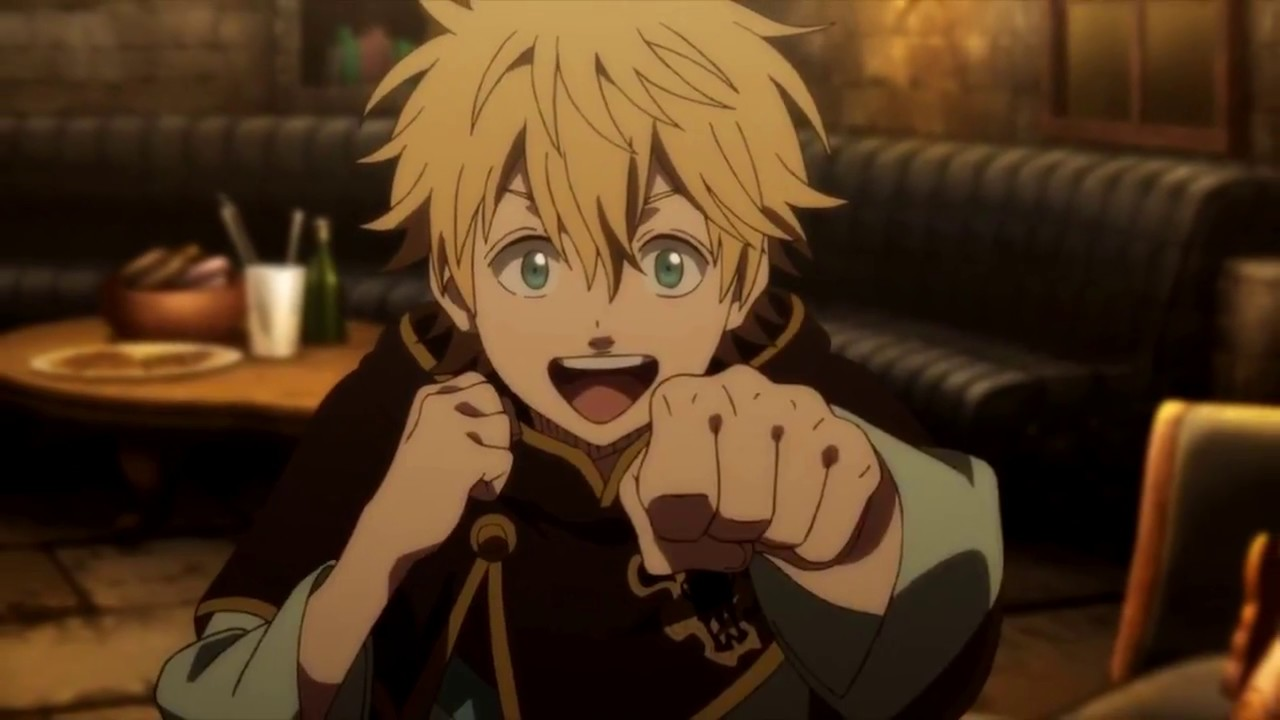 why luck always wants to fight black clover youtube