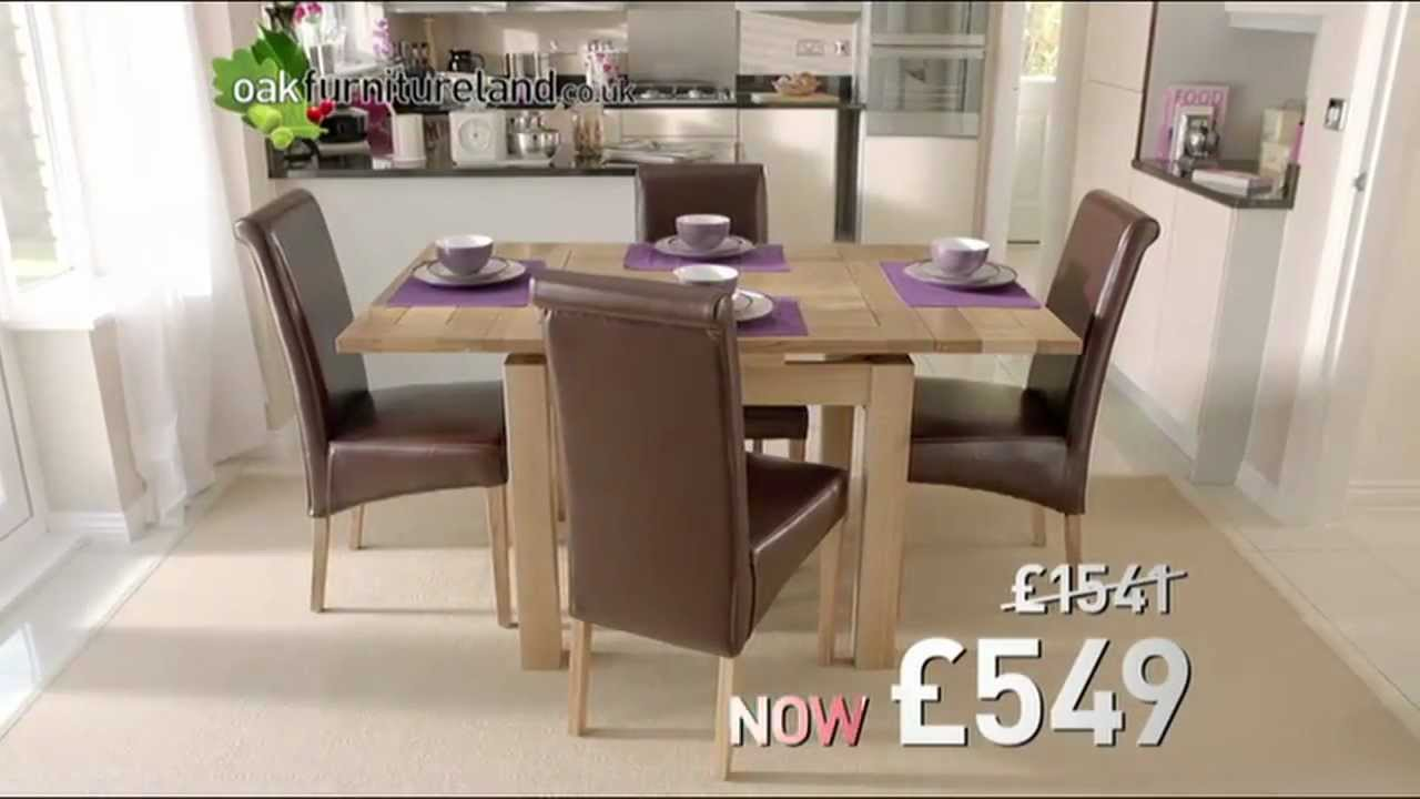 Dining Sets For Christmas From Oak Furniture Land