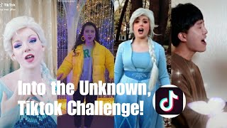 Into the Unknown (Frozen2)Tiktok Challenge|Panic at the Disco|Brendon Urie