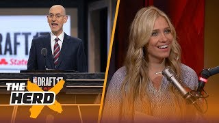NBA pursuing draft lottery-system reform to discourage tanking - Kristine and Colin react | THE HERD