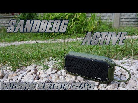 Sandberg Active Waterproof Bluetooth Speaker - test, recenzja, review wytrzymałego głośnika z IPX7