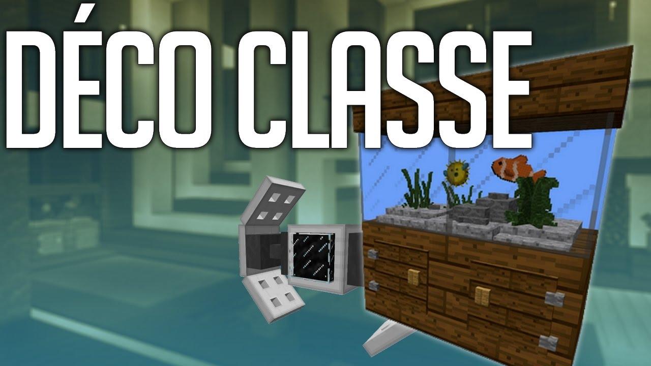 Faire une Déco Classe facilement dans Minecraft - YouTube