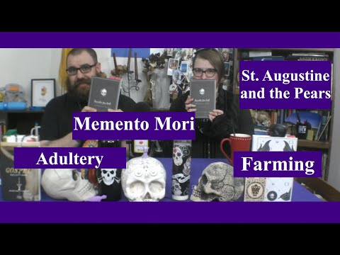 Memento Mori: St Augustine