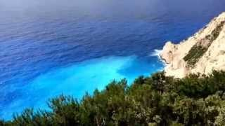 Navagio in Zakynthos Greece